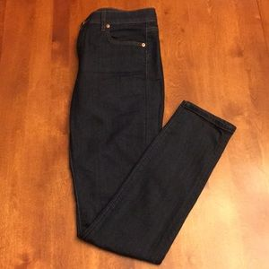 Loft dark-washed Jeans